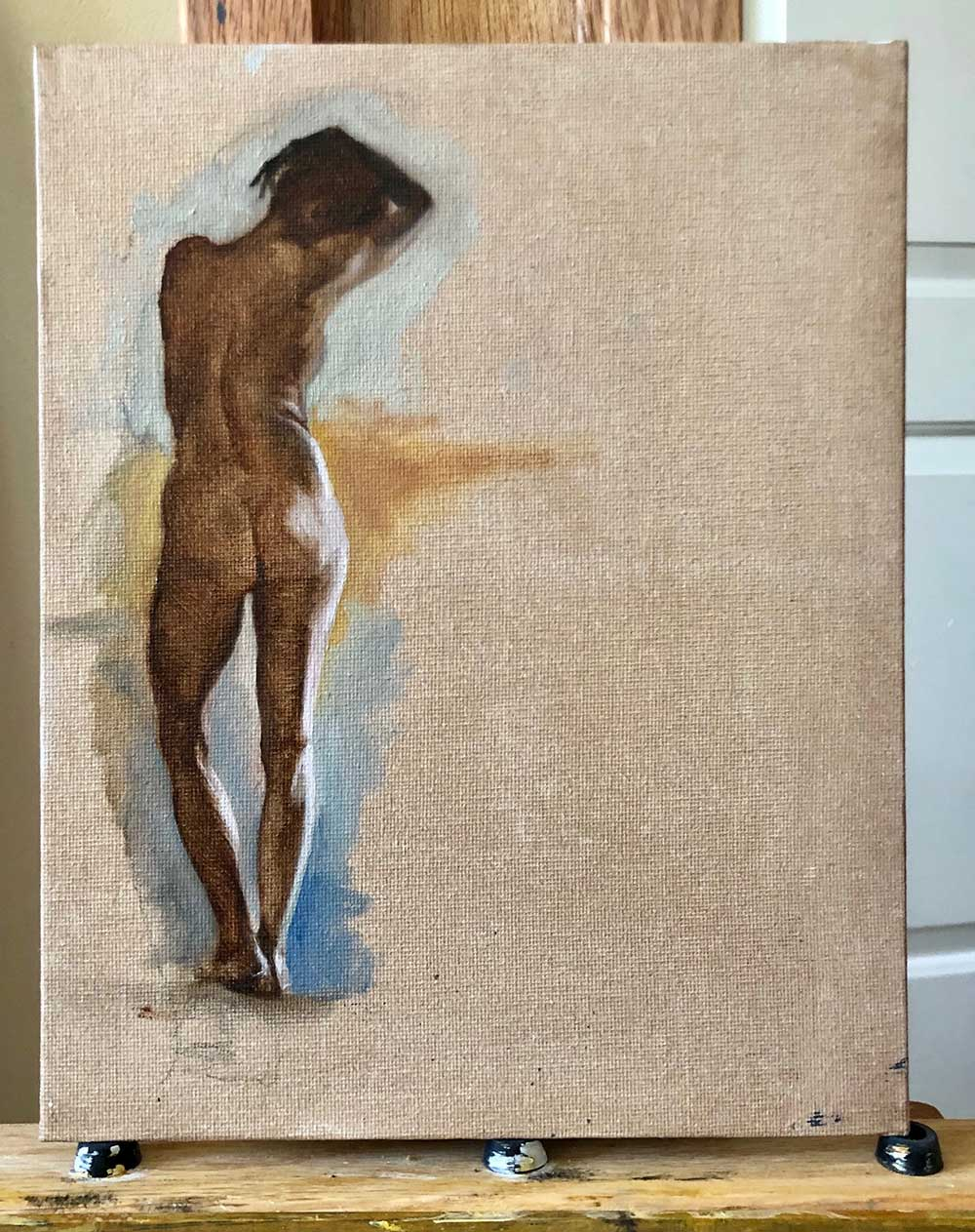 justina-vail-evans-nude-woman-standing